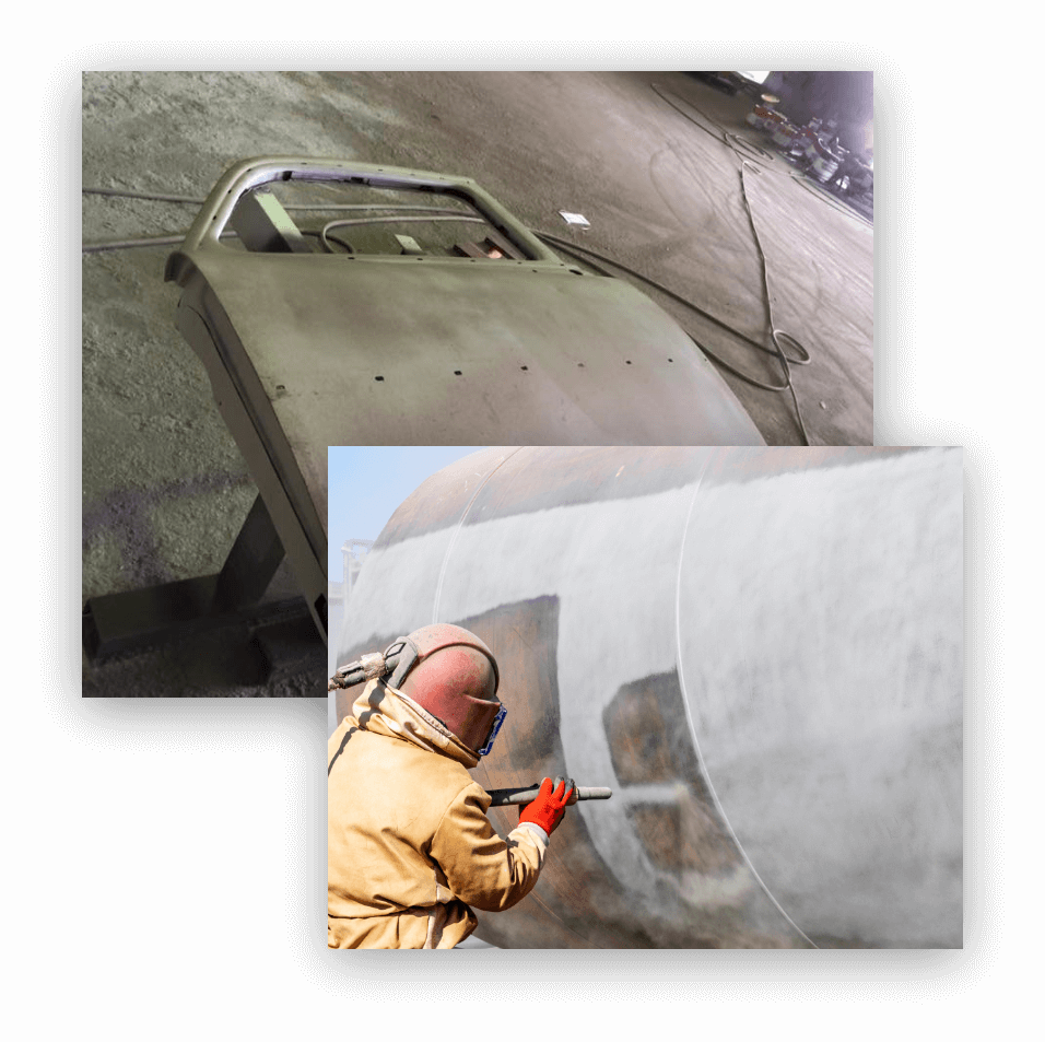 Abrasive Blasting (Sandblasting) Newcastle - JH Protective Coatings